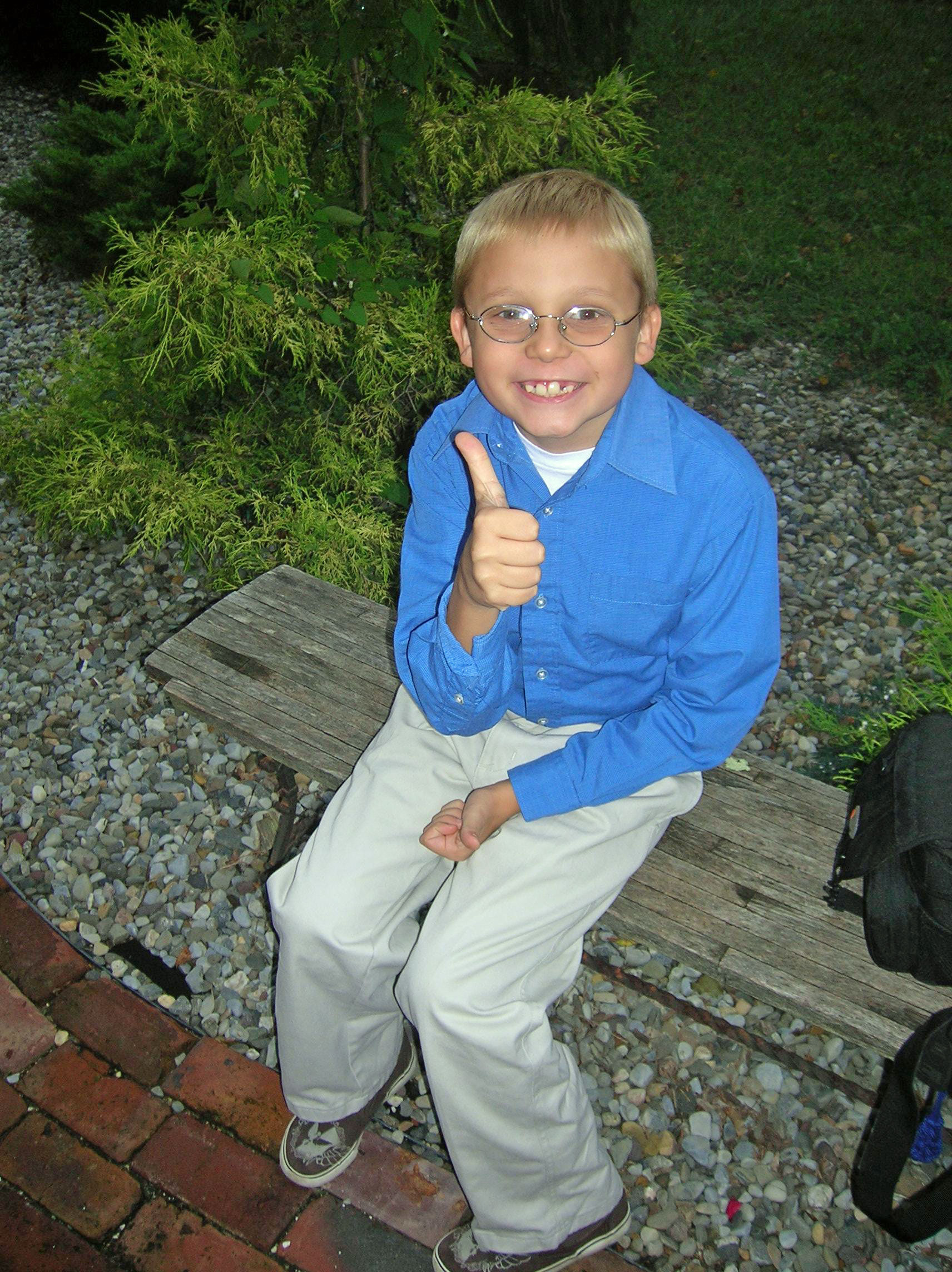 """Jacob gives Autism New Jersey the """"thumbs up"""""""
