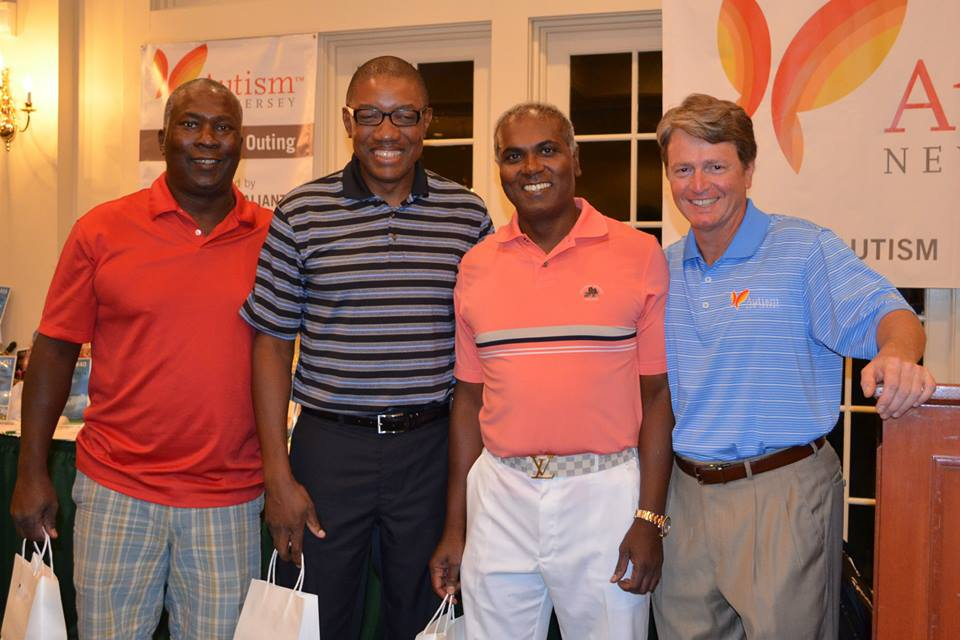 Congratulations to the First Place Team on the Palmer Course -- Keiron Greaves, Mike Mahase, and Robert Stoute