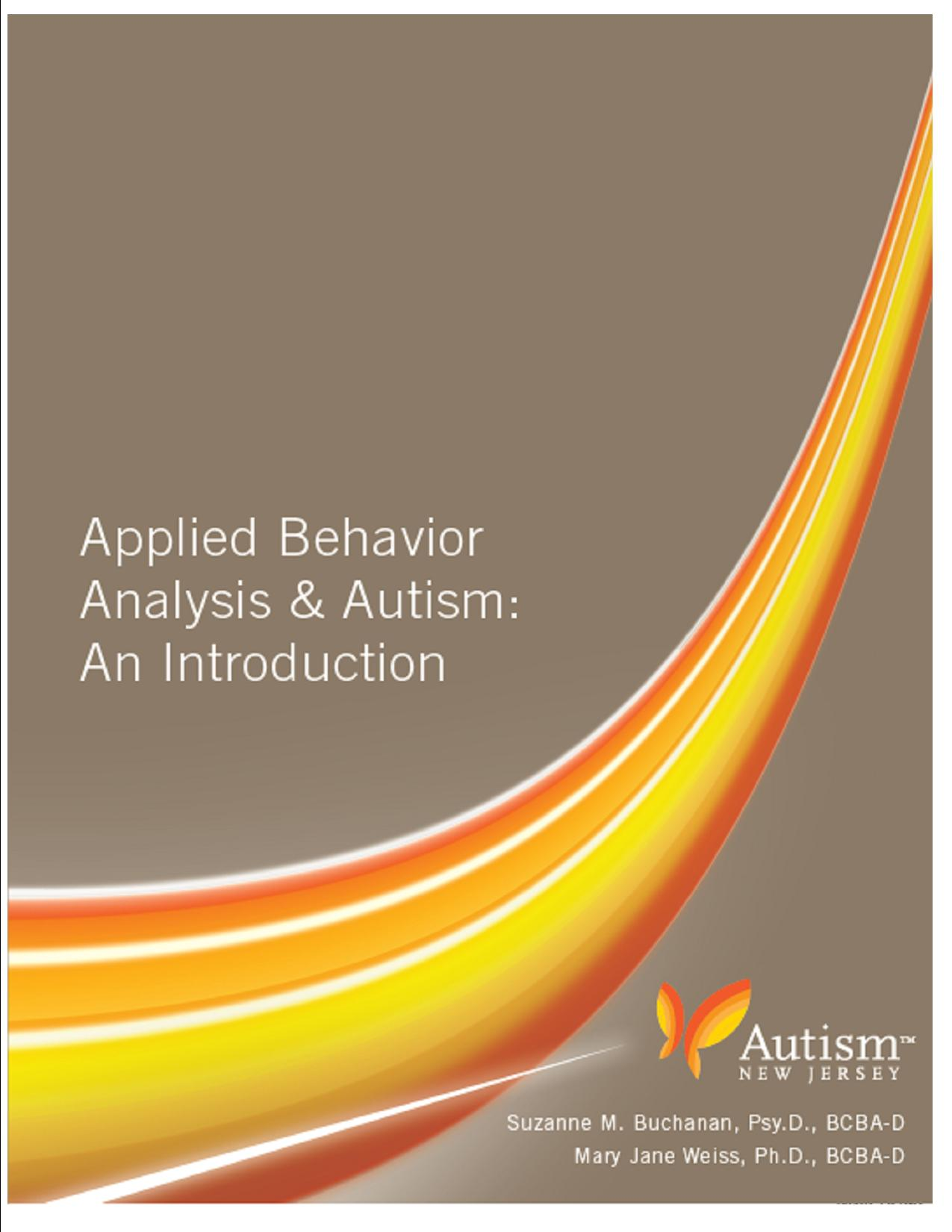Applied Behavior Analysis: An Introduction